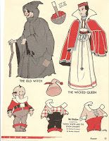 Mostly Paper Dolls Snow White and the Seven Dwarfs