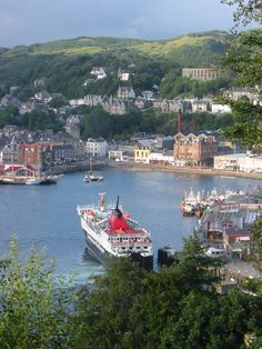 Oban harbour,Scotland