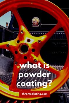 Want to know what powder coating is? Find out and how it is done when applied to vehicle or #motorcycle rims or parts and its difference from paint. Find out! #powdercoating #wheels