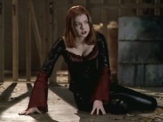 Vampire-Willow on 'Buffy the Vampire Slayer'.