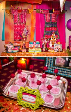 Vibrant & Exotic Bollywood 40th Birthday Party
