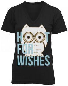 Chi Omega Hoot For Wishes V-Neck