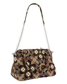 Chain Bag   Vera Bradley I like the chain/ fabric combination of handle