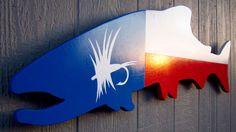Texas Trout - Fly Fishing / Fishing Art