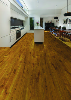 TF06 Golden Oak Hand Distressed Solid Wood flooring from Tuscan