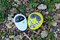 WALL-E Painted Rocks Craft | Disney Family