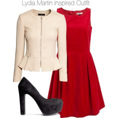 Teen Wolf - Lydia Martin (Sweden Friendly) Inspired Outfit by staystronng on Polyvore featuring polyvore, fashion, style, H&M, TeenWolf, LydiaMartin and tw