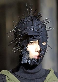 Hellraiser fashion? Seriously? (Junya Watanabe is responsible for this.)