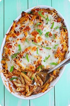 The Comfort of Cooking » Baked Penne with Italian Sausage