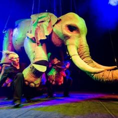Biggest Marionette Circus Edinburgh, Elephant, Big, Animals, Animales, Animaux, Animal, Animais, Elephants