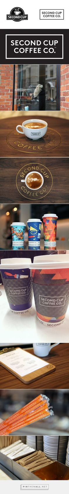 Brand New: New Name, Logo, and Identity for Second Cup Coffee Co. by Jacknife... - a grouped images picture - Pin Them All