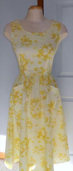 Vintage sheet dress