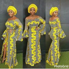 There are quite a few ways to get ourselves beautified once an aso ebi styleNigerian Yoruba dress styles , Even if you are thinking of what to create and slay in imitation of an Asoebi style. African Print Dresses, African Print Fashion, Africa Fashion, African Fashion Dresses, African Dress, Nigerian Fashion, African Outfits, African Prints, Ghanaian Fashion