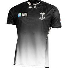 Fiji BLK 2015 RWC Away Rugby Shirt - Available at uksoccershop.com World  Cup Jerseys 53c91300d