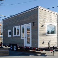 """The """"Mansion"""", a 270 sq ft tiny house on wheels, designed and built by Uncharted Tiny Homes of Phoenix, Arizona."""