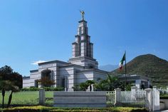 Click to enlarge this image of the Monterrey México Mormon Temple