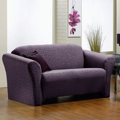 fresca merlot sofa stretch slipcover interior design u0026 home dcor