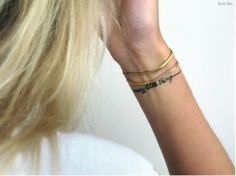 i plan on doing this - but with words - kind of like a bracelet.