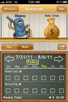 iallowance-iphone-chores