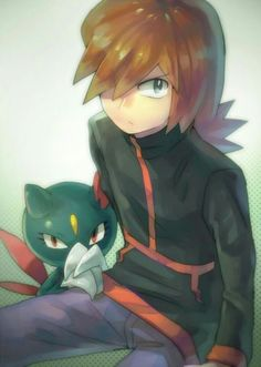 Silver with his Sneasel