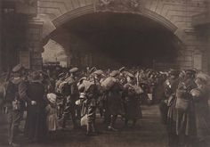 """""""The Gate of Goodbye,"""" 1917, Francis James Mortimer. 