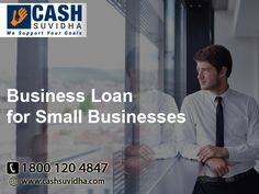 Cash Suvidha provide Business Loan for Small Business in India. #BusinessLoan #ApplyOnline #SmallBusinessLoan