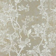 Ralph Lauren Marlowe Floral wallpaper in Sterling Toiles