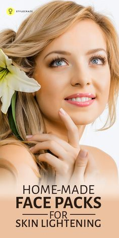 Today we present to you some amazing skin whitening face masks and tips: