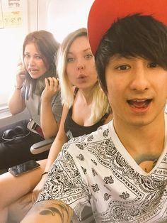 Julien Bam, Melina Sophie, Kelly MissesVlog