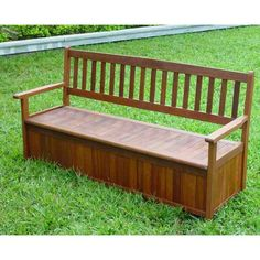 Outdoor Bench Seat with Storage : patio storage chair - Aquiesqueretaro.Com