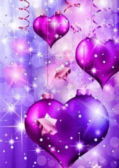 Heart Wallpaper, Purple Wallpaper, Love Wallpaper, Cellphone Wallpaper, Wallpaper Backgrounds, Iphone Wallpaper, Glitter Wallpaper, Love Heart Images, Beautiful Images