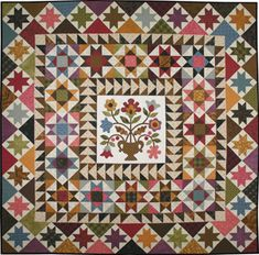 Louisa May's Medallion Quilt