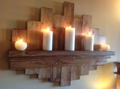 Elegant and Understated Raw Wood Shelf