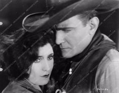 photo Virginia Brown Faire Buck Jones silent western film Desert Valley 551-24