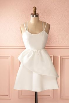 simple evening dress,short sexy party dress,homecoming dress,418