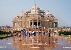 AKSHARDHAM TEMPLE GANDHINAGAR: HISTORY & ARCHITECTURE