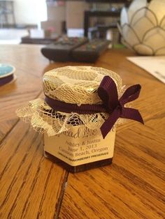 Kelly's Jelly Wedding Favors