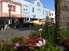 Downtown Pacific Grove CA, a quaint seaside town
