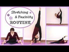 Stretching & Flexibility Routine | Kathryn Morgan - YouTube