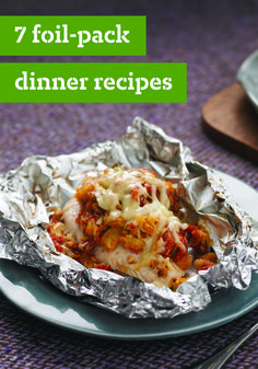 7 Foil-Pack Dinner Recipes – These foil-pack dinnertime ideas are easy to make, cool quickly, and reduce your cleanup time! From the wide variety of chicken recipes and fish creations, there's something the whole family will enjoy.