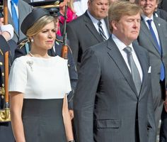 President Barack Obama meets with King Willem-Alexander and Queen Maxima of the Netherlands in the Oval Office of the White House on June 1, 2015 in Washington, DC.