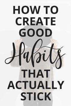 Habit Stacking: How to Create Good Habits That Actually Stick - Have you ever tried creating a new healthy habit? It is NOT easy! In this post, I'm sharing how habit stacking can help you create good habits that actually stick! Habit Quotes, Healthy Lifestyle Habits, Habits Of Successful People, Beauty Habits, Good Habits, Healthy Living Tips, How To Relieve Stress, Self Improvement, Self Help