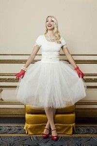 Shabby Apple Tinsel Town Skirt $62