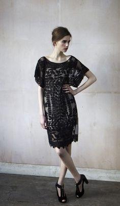 Antik Batik dress in a gorgeous black lace