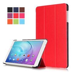 Slim Smart Case Cover for Huawei MediaPad T2 10.0 Pro Folding Smart Stand Case for MediaPad T2 10.0 Pro Tablet Funda Case  #Affiliate