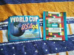 Sealed sticker pack packet bustine tute WORLD CUP 1994 USA 94 Euroflash Broca