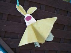 Schnuffeltuch - Hase - Schmusetuch von creatina´s Winkelchen auf DaWanda.com
