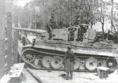 Tiger of Panzerabteilung Müncheberg in Berlin.