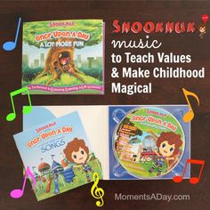 Snooknuk Music to Teach Values and Make Childhood Magical GIVEAWAY - Moments A Day