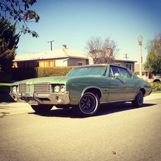 1972 Oldsmobile 'Holiday Sedan' Cutlass Supreme.